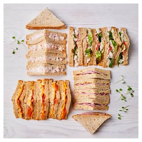 Mixed Sandwich Selection, 20 pieces
