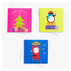 John Lewis Christmas Bright Cards