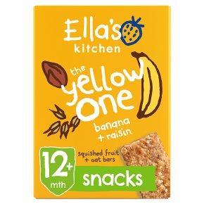 Ella's Kitchen The Yellow One Oat Bars