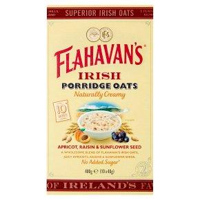Flahavan's Irish Apricot Raisin Seed Porridge Oats 10s