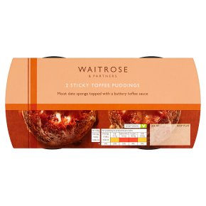 Waitrose Sticky Toffee Puddings