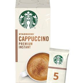Starbucks Cappuccino Premium Instant Coffee Sachets