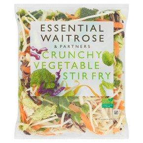 Essential Crunchy Vegetable Stir Fry