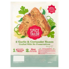 The Spice Tailor Garlic Baked Naans