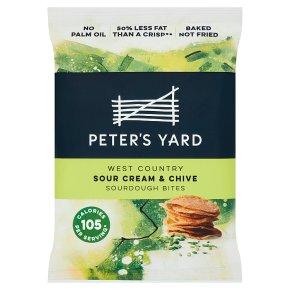 Peter's Yard Sour Cream & Chive Sourdough Bites