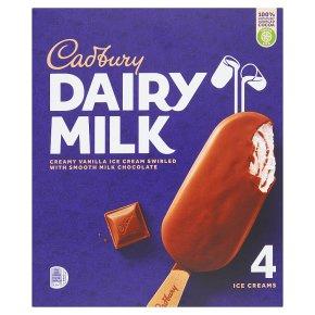 Cadbury Dairy Milk Ice Creams
