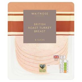 Waitrose British Roast Turkey Breast 6 slices