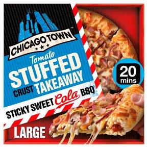 Chicago Town Tomato Stuffed Crust Sticky Cola BBQ