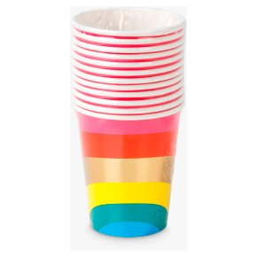 Talking Tables Rainbow Paper Cups
