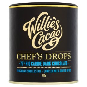 Willie's Cacao 72% Chef's Drops