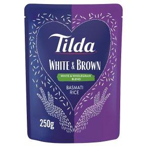 Tilda White & Brown Basmati Rice