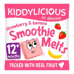 Kiddylicious Melts Strawberry & Banana