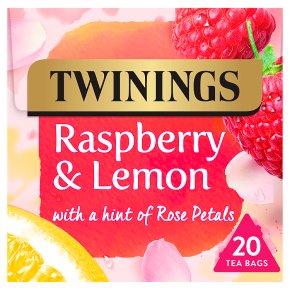 Twinings Raspberry & Lemon 20 Tea Bags