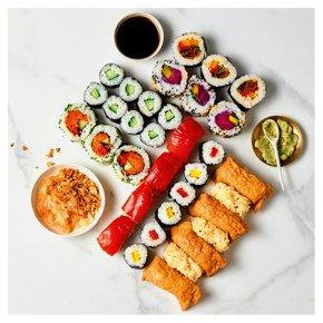 Taiko Sushi Vegan Platter