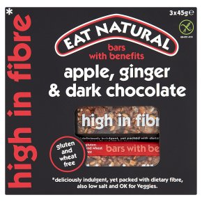Eat Natural Ginger Apple Dark Chocolate