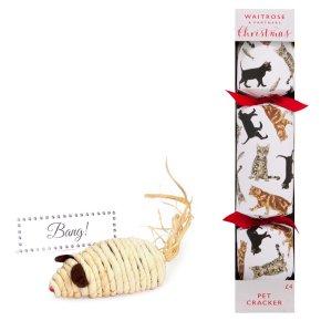 Waitrose CAT CHRISTMAS CRACKER