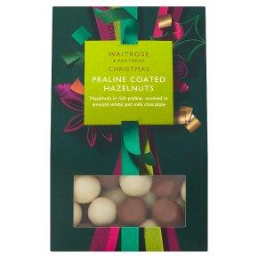 Waitrose Christmas Praline Coated Hazlenuts