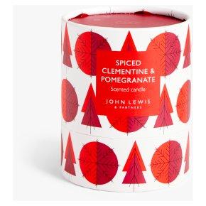 John Lewis Single Red Votive