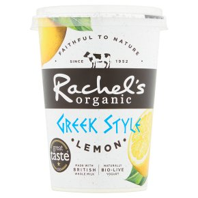 Rachel's Greek Style Lemon Yogurt