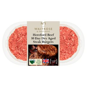 No.1 Dry Aged Hereford Steak Burgers