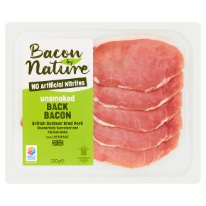 Denhay Bacon by Nature Unsmoked Back Bacon