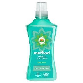 Method Tropical Coconut Fabric Softener 45 washes