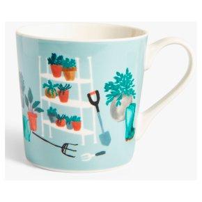 John Lewis Gardening Mug