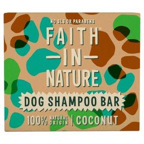 Faith In Nature Coconut Dog Shampoo Bar
