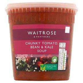 Waitrose Tomato, Bean & Kale Soup