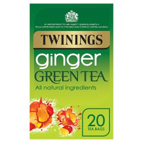 Twinings Ginger Green Tea 20 Tea Bags