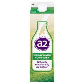 a2 semi skimmed fresh milk