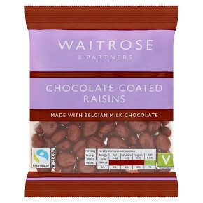 Waitrose Chocolate Coated Raisins
