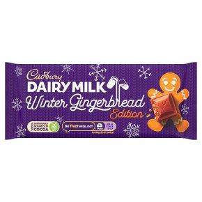 Cadburys Dairy Milk Winter Gingerbread
