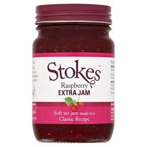 Stokes Extra Jam Raspberry