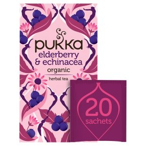 Pukka Elderberry & Echinacea 20 Fruit Tea Sachets