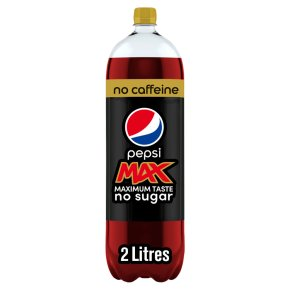 Pepsi Max Caffeine Free