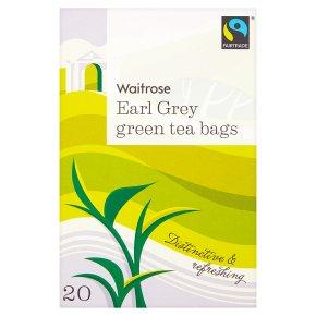 Waitrose Earl Grey Green Tea 20s