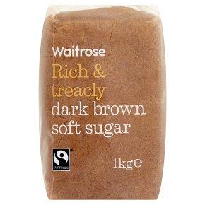 Waitrose Dark Brown Soft Sugar
