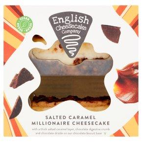 English Cheesecake Salted Caramel Millionaire