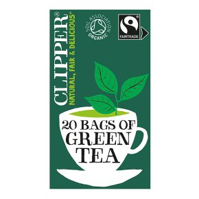 Clipper 20 Pure Green Teabags