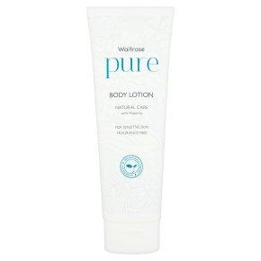 Waitrose Pure Natural Body Lotion
