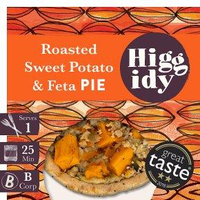 Higgidy Sweet Potato & Feta Pie with Pumpkin Seeds