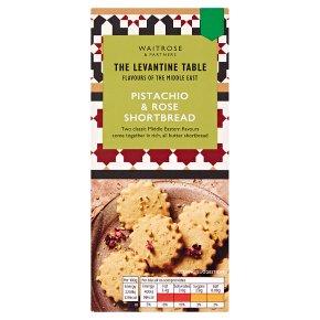 Levantine Table Pistachio & Rose Shortbread
