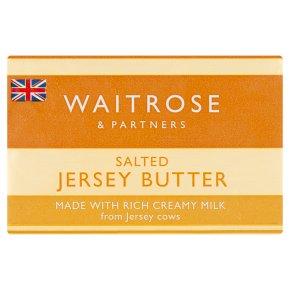 Waitrose Salted Jersey Butter