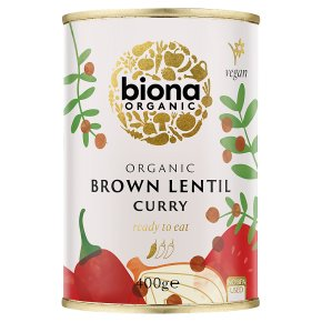 Biona Organic Brown Lentil Curry