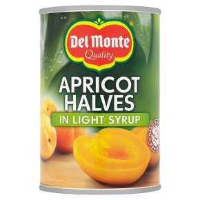 Del Monte Apricot Halves in Light Syrup