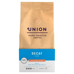 Union Coffee Decaf Blend Cafetière Grind