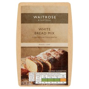 Waitrose White Bread Mix