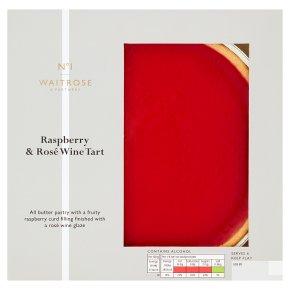No.1 Raspberry & Rosé Wine Tart