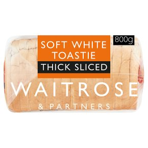 Waitrose Soft White Thick Bread
